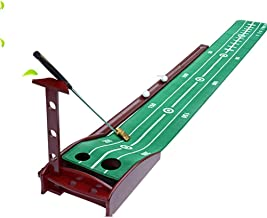 """JGWHW Accelerator Pro Indoor Putting Green with Ball Return, 15""""x118"""