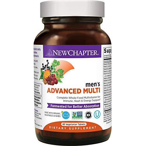 New Chapter Mens Multivitamin + Immune Support, Men