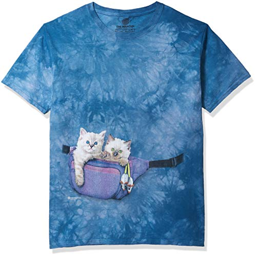 The Mountain Unisex-Adult's Fanny Pack Kittens, Blue, XL