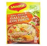 Maggi Sopa de Gallina con Fideos Hen Noodle Soup (12 Pack)