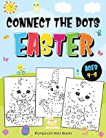 Connect the Dots Easter: Fun Dot to Dot Activity Book for Kids Ages 4-8 50 Challenging Puzzles Workbook