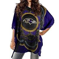 Littlearth NFL Baltimore Ravens Caftan,300627-ravn,Purple