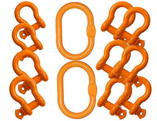 Why Choose X100 Grade 100 Shackle Kit Master Link Rigging Job Site Universal Rigging Brand