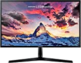 "Samsung S24F356 Monitor per PC 24"", 4 ms, Risoluzione 1920 x 1080, Full HD, 60 Hz D-Sub, HDMI, Pannello PLS, Freesync, Nero"