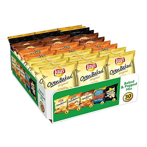 Frito-Lay Baked & Popped Mix Variety Pack 40-Count Only $10.70