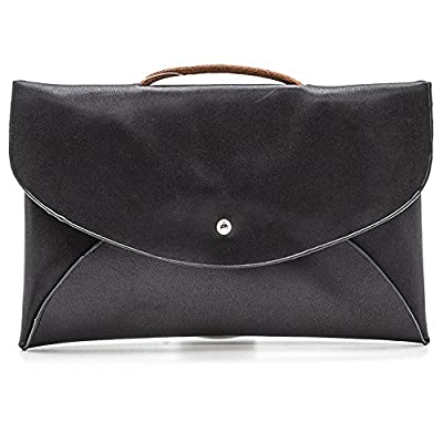 Vegan Leather Convertible Envelope Swing Pouch Clutch
