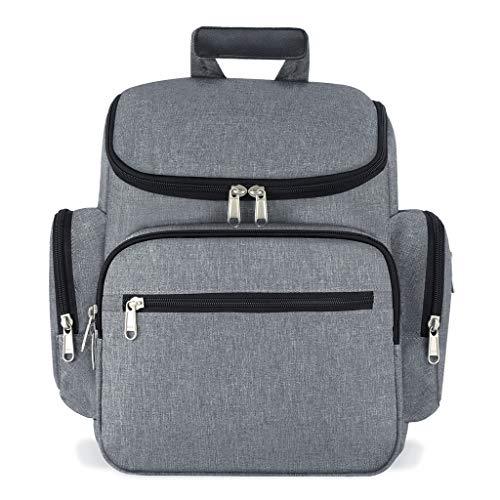 AHWZ Diaper Bag Sac à Dos, Multi-Fonction imperméable à l'eau maternité bébé Allaitement Nappy Back Pack pour garçon/Fille sur Voyage