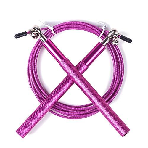UQstyle Corde à sauter réglable pour améliorer, coordonner, renforcer et endurance, 3 m en métal, corde à sauter réglable G