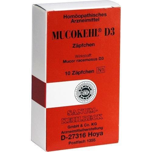MUCOKEHL Suppositorien D 3 10St PZN: 3206707