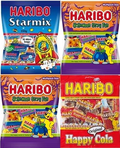 HARIBO ハリボー ハロウィンお好みセット(個包装タイプ) 250g ×4(個包装)