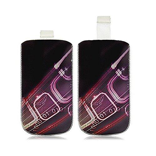 Seluxion Schutzhülle Tasche Universal mit S HF07 für Bouygues Telecom Bs 403