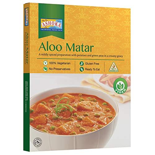 ASHOKA Instant Aloo Matar, 10er Pack (10 x 280 g)