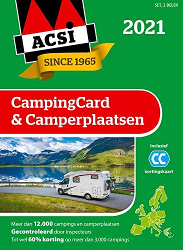 ACSI campingcard & camperplaatsen 2021: set 2 delen (ACSI Campinggids)
