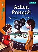 Adieu Pompéi Niveau 3 - Tous lecteurs ! Roman - Livre élève - Ed. 2013 de Sophie Marvaud