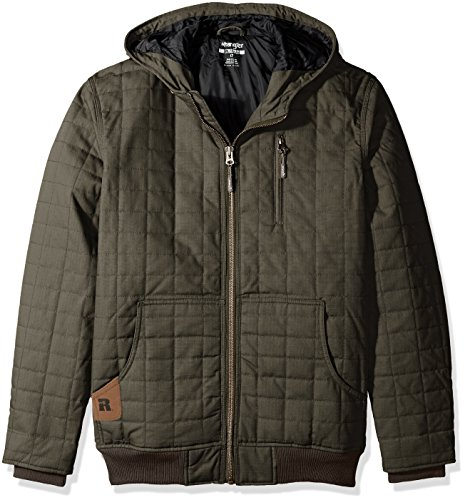 Wrangler Mens Outerwear Sherpa Lined Hooded Jacket