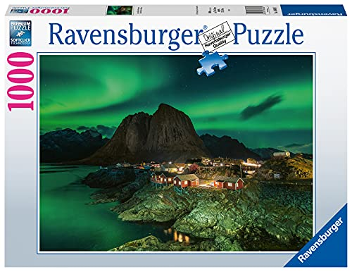 Ravensburger Puzzle, Puzzle 1000 Pezzi, Aurora Boreale - Norvegia, Puzzle Adulti, Puzzle Paesaggi, Puzzle Ravensburger - Stampa di Alta Qualità, Esclusivo Amazon