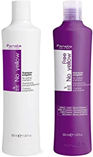 Fanola No Yellow and Vegan Shampoo, 350ml Package