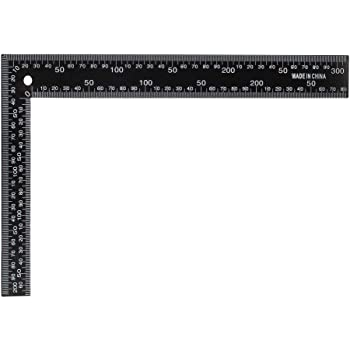 200x130mm Angle Ruler Engineer Square High Accuracy Stainless Steel 90