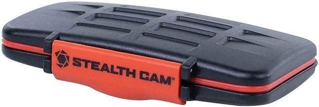 Stealth Cam STC-MCSC Memory Card Storage Case, Orange, One Size