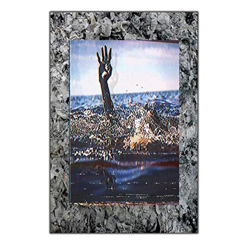 Rap Pictures Maxo Kream cantante música Art seda póster regalo Lienzo decoración del hogar Imagen de la pared decoración -50x75cm Sin marco