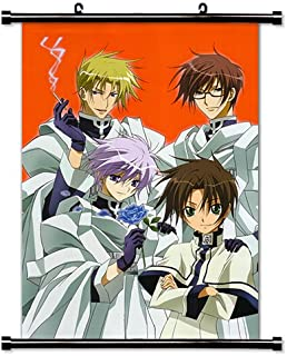 07 Ghost Anime Fabric Wall Scroll Poster (16 x 23) Inches