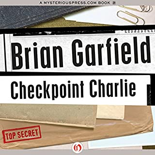 Checkpoint Charlie audiobook cover art