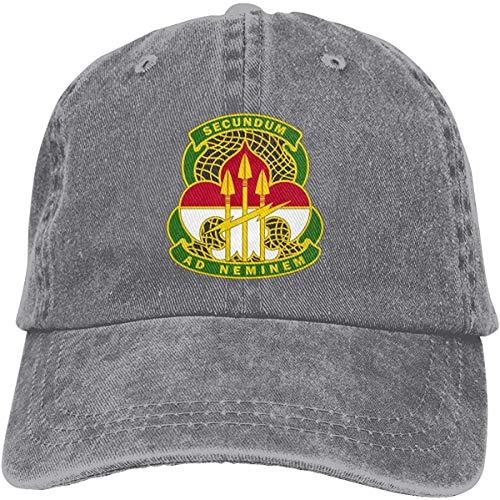 Qinckon Primer Comando de Operaciones de información Sombreros de Vaquero Sombreros de Mezclilla Sombrero de papá
