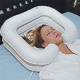 Aufblasbare Shampoo-Becken, Tragbares Faltbares PVC-Shampoo-Haarwaschbecken, Komfortabel Und Bequem...