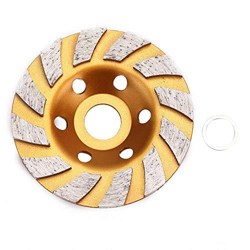 XJF 100mm muela de diamante taza de pulido disco de amoladora de ángulo de oro