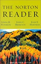 Norton Reader 10th edition by Peterson (2000) Paperback