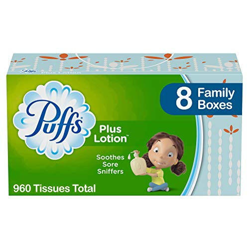 960-Count Puffs Plus Lotion Facial Tissues  $11 at Amazon