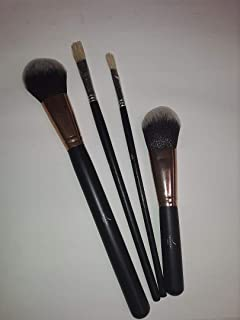 Streamline Painters Artist paint brush set of 4, Great for stains, latex, unicorn spit, and acrylic paints. Smooth finish and fine detail brushes together in one pack!