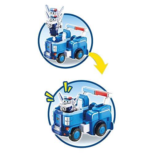 Giochi Preziosi Super Wings Veicolo, Robot trasformabile con Personaggio Paul, UPW81200