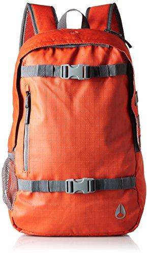 [ニクソン] バックパック Smith Skatepack II Red Pepper/Charcoal One Size