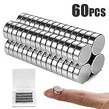ALIENGT Magnete für Magnettafel Starke Magnete Kühlschrank WhiteboardMagnet 60 Stück