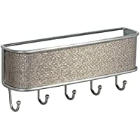 InterDesign Twillo Wall Mount Mail and Key Rack