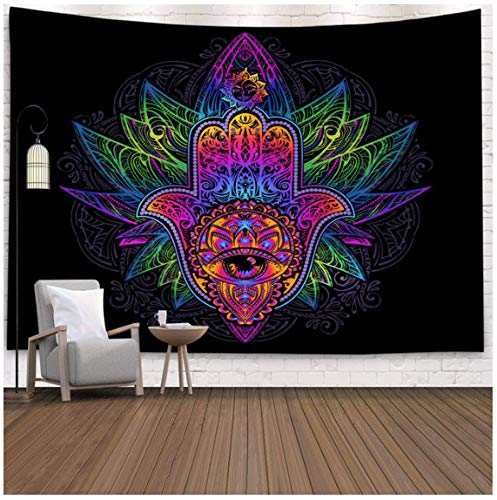 Indian Mandala Wall Tapestry Sun Moon Tree Tarot Wall Hanging Tapestry Rug Psychedelic Tapiz Witchcraft Wall Cloth Tapestries