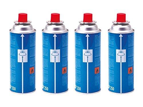 Campingaz CP250 Gas Cartridge - Blue, 4 x 250 g by Campingaz