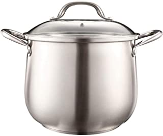Moserary Premium Heavy Duty Stainless Steel Steamer Pot Set, 4-Quart Steamer Cooker, 3 Piece Stack & Steam Pot Set