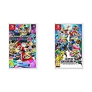1 of Mario Kart 8 Deluxe (Nintendo Switch) 1 of Super Smash Bros - Ultimate (Nintendo Switch)