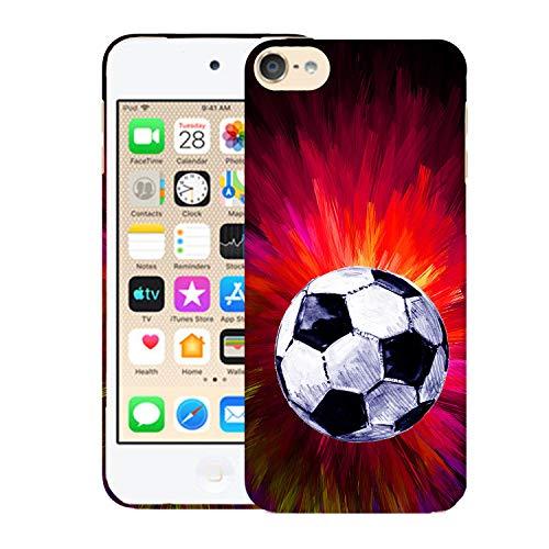 Glisten iPod Touch 7th / 6th / 5th Generation Case - Splash Soccer Design Printed Cute Slim Fit Hard Plastic Designer Back Case for iPod Touch 7th, iPod Touch 6th & iPod 5th Generation