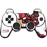 Skinit Decal Gaming Skin for PS3 Dual Shock Wireless Controller - Officially Licensed Marvel/Disney Deadpool Baby Fire Design
