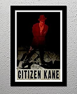 Citizen Kane - Orson Welles RKO Pictures - Original Minimalist Art Poster Print