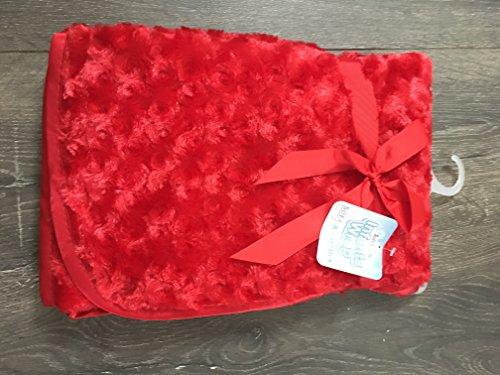 Echarpe de ou infantile en rouge satiné avec bordure