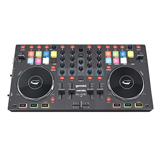 Gemini Slate 4 - DJ Controller - inkl. Serato DJ Lite, 0020107872