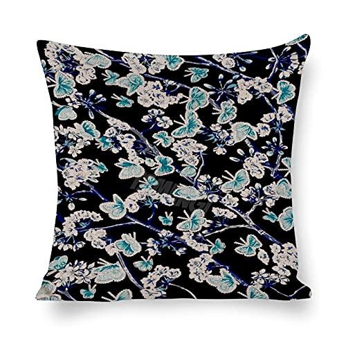 Fashion Trends Stampa Patterns_6,Cotone lino cuscino Cozy Throw Pillow Covers,Cuscino quadrato decorativo in cotone lino federa per divano letto 50 cm x 50 cm federe