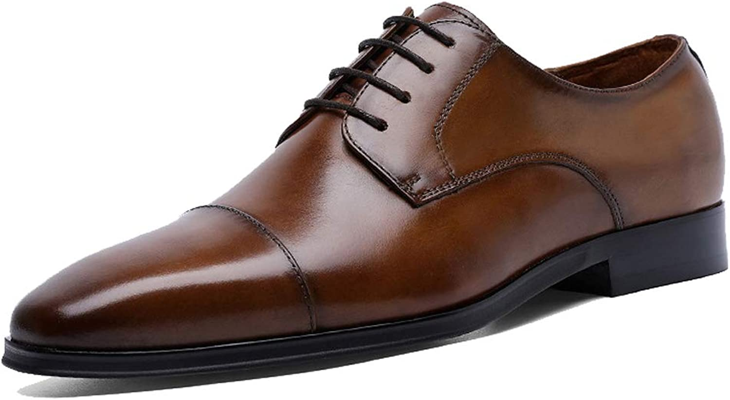 Men's Oxford shoes Derby shoes Business Dress Three-joint shoes Casual shoes Lace-up shoes