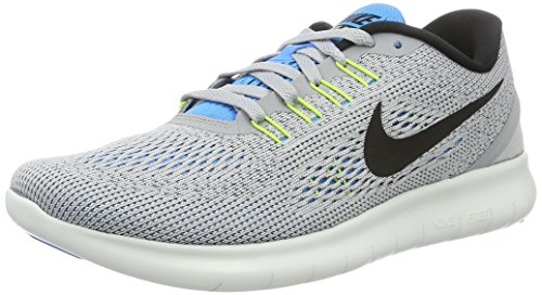 Nike Free RN Herren Laufschuhe, Grau, 38.5 EU