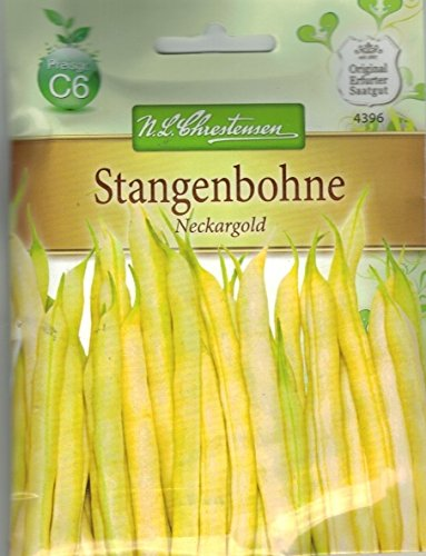 Chrestensen Stangenbohne 'Neckargold' Saatgut