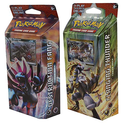 Pokemon TCG: Both Sun & Moon Crimson Invasion Theme Decks - Hydreigon...